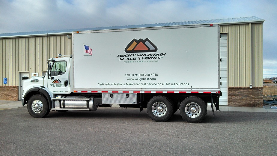 Rocky Mountain Scale Works heavy-capacity service truck