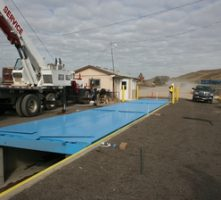 Truck scale installation